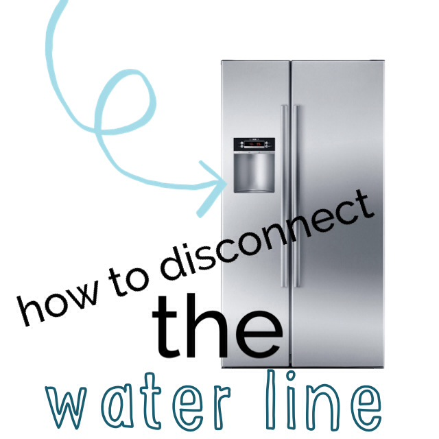 How To Properly Disconnect Icemaker Water Line