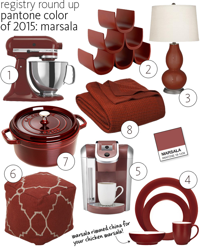 Kitchenaid Colors 2015 how to add marsala to your daybreak home