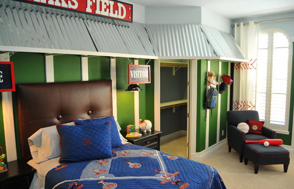 How to Create a Sports Themed Room